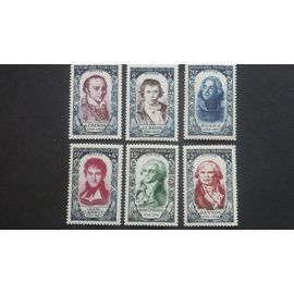 timbre france neuf** n°867-872