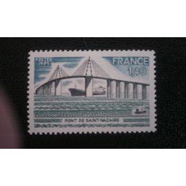 TIMBRE FRANCE ( YT 1856 ) 1975 Pont St. Nazaire