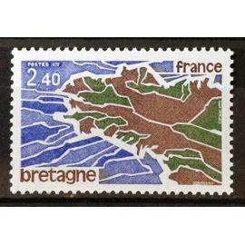 Région Bretagne 2,40 (Impeccable n° 1917) Neuf** Luxe (= Sans Trace de Charnière) - France Année 1977 - N20601
