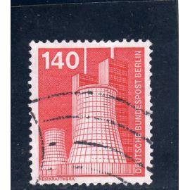 Timbre-poste de Berlin Ouest (Industrie et technique : centrale thermique)
