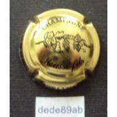 Capsule de Champagne Jéroboam Générique Grappe de Raisin Or !!!!!