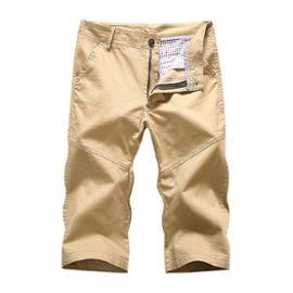 wholesale outlet brand new info for Pantacourt Homme Slim Fit en Coton ?té Pantalon Court Chino Léger Couleur  Unie