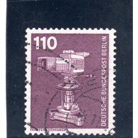 Timbre-poste de Berlin Ouest (Industrie et technique : caméra couleur)