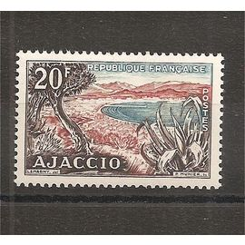 981 (1954) Ajaccio 20f N** (cote 3,5e) (3268)