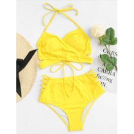 Maillot de bain 2 pièces bandeau femme 36//38-38//40 Violet Bikini Sanselle