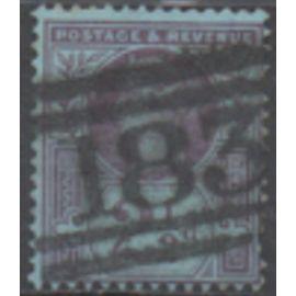Grnde Bretagne: 1 timbre de 1887 émis pour le jubilé de la reine Victoria.