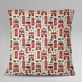 S 4 Sassy Gray Home Decor UK thème Architectural Carré Housse de coussin taie d/'oreiller