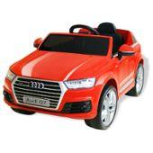 Q7 V Jouet 6 Pour Enfants Audi Rouge Voiture Électrique c1FKlJ