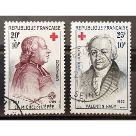 Série Croix Rouge 1959 - N° 1226 Abbée de l