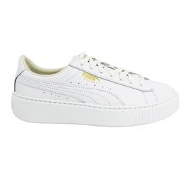 Puma BASKET PLATFORM CORE Chaussures Mode Sneakers Femme Cuir Suede