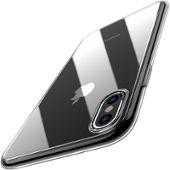 2802beb6057b1 Coque Iphone X  Garantie A Vie , Welkoo® Coque Iphone X, Housse Iphone X En  Silicone Renforcé Shockproof Anti Choc Couleur Transparente, Souple Et ...