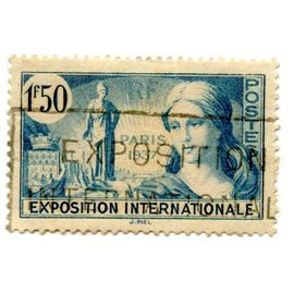 Timbre 1937 Exposition internationale N° 336 Yvert et Tellier