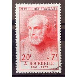 Célébrités XIII au XXème Siècle - Bourdelle (Superbe n° 992) Oblitération Très Légère - Cote 36,00€ - France Année 1954 - N21443