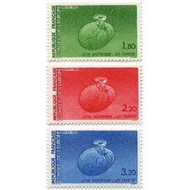 france 1985, très belle série complète neuve** luxe timbres de service du conseil de l