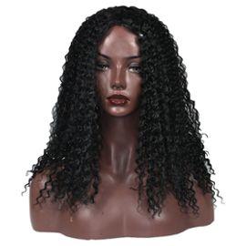 Triseaman fashion femme perruque noir wig