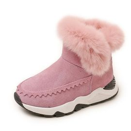 tout neuf 35437 66b27 Bottine - boots enfants chaudes et confortables pour l'hiver ALKG-TX2183