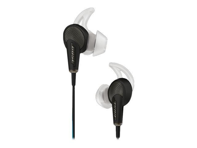 Vente Bose Bose QuietComfort 20 - Écouteurs avec micro - intra-auriculaire - filaire - Suppresseur de bruit actif - jack 3,5mm