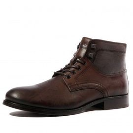 cheapest great deals best value Casual Leather Homme Boots Marron Tommy Hilfiger