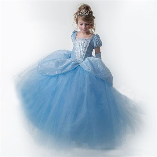 Cendrillon Robe De Mariee Enfant Fille Princesse Deguisement Rakuten