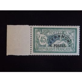 n°44 - 45c - Vert et Bleu