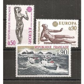 1789 à 1792 (1974) Europa / Sauvetage en Mer / Conseil de l