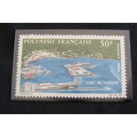 Polynésie Française....Port de Papeete 1966