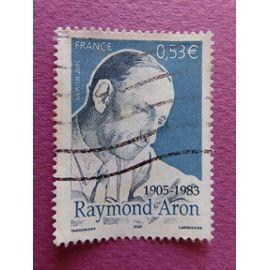 Timbre France YT 3837 - Raymond Aron - Philosophe et Sociologue - Portrait - 2005