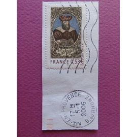 Timbre France YT 3852 - Avicenne - Médecin et philosophe - Portrait - 2005