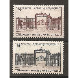 939 et 988 (1952) Les deux Versailles d