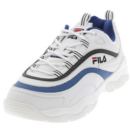 Chaussures Men Blanc Cuir Bleu Simili Fila Blc Basses 40568 Low Ou Ray tdBosrQhCx