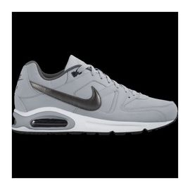 nike baskets air max command leather homme gris clair