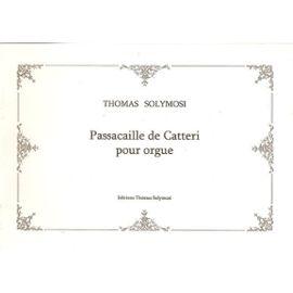 Piano -- Passacaille Graduee 18 Variations