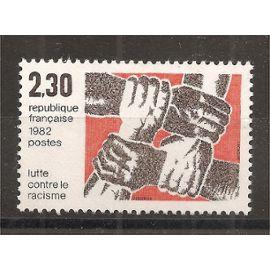 2204 (1982) Lutte contre le Racisme N** (cote 1,25e) (0926)