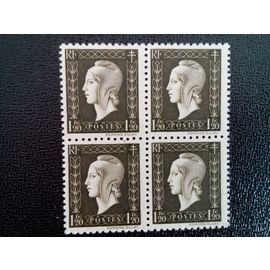 TIMBRE FRANCE YT 690 Marianne type Dulac 1945