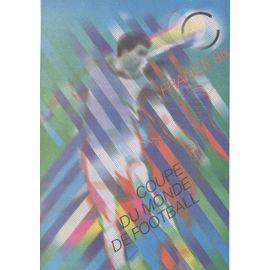 Timbres France 1997 Yvert et Tellier n°3074, 3075, 3076 et 3077 France 98 Coupe du Monde Oblitérés premier jour 31.05.1997 Collection Historique du Timbre-Poste Français Document Philatéli