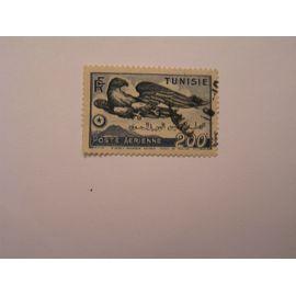timbre oblitéré Tunisie pote aérienne n° 15