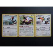 Rare Pok/émon SL8 Carte Bazoucan 140 PV 166//214