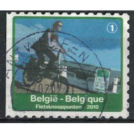 Belgique 2010 Oblitéré Used Bicyclette Vélo Pistes Cyclables SU