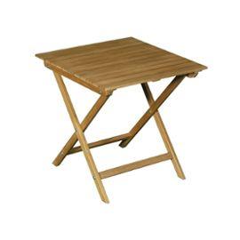 Table basse de jardin en acacia couleur teck CENARI