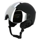 Casque De Ski Prosurf Racing Visor Grey Stripes Noir 16087