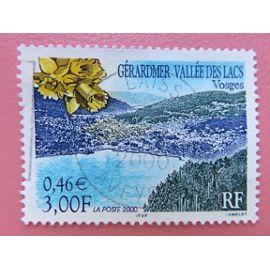 Timbre France YT 3311 - Série touristique - Gérardmer - Vallée des Lacs (Vosges) - 2000