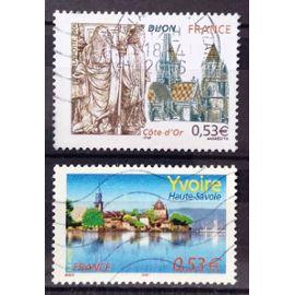 Yvoire 0,53€ (N° 3892) + Dijon - Côte-d