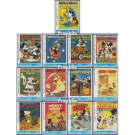 sierra leone sierra-léonais 1933-1945 (complète.Edition.) neuf avec gomme originale 1992 Mickey Maus Magazine bandes dessinées