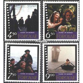 Danemark - Îles Féroé 322-325 (complète.Edition.) neuf avec gomme originale 1997 film barbara Célébrités / Cinéma / Théâtre