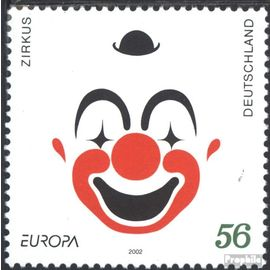 RFA (FR.Allemagne) 2252 (complète.Edition.) neuf avec gomme originale 2002 Circus cirque