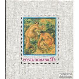 Roumanie Bloc 110 (complète.Edition.) neuf avec gomme originale 1974 impressionnisme peinture
