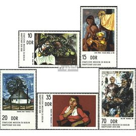 DDR 2001-2005 (complète.édition) neuf avec gomme originale 1974 Peintures peinture