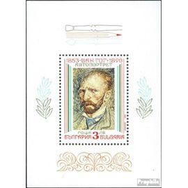 Bulgarie Bloc 214 (complète.Edition.) neuf avec gomme originale 1991 Peintures de impressionnisme peinture