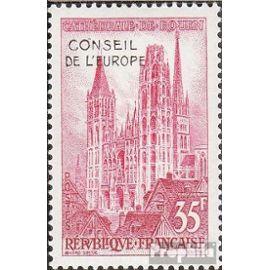 France da1 (complète.Edition.) neuf avec gomme originale 1958 cathédrale de rouen Christianisme