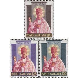 Vatican 220-222 (complète.Edition.) neuf avec gomme originale 1954 canonisation Christianisme